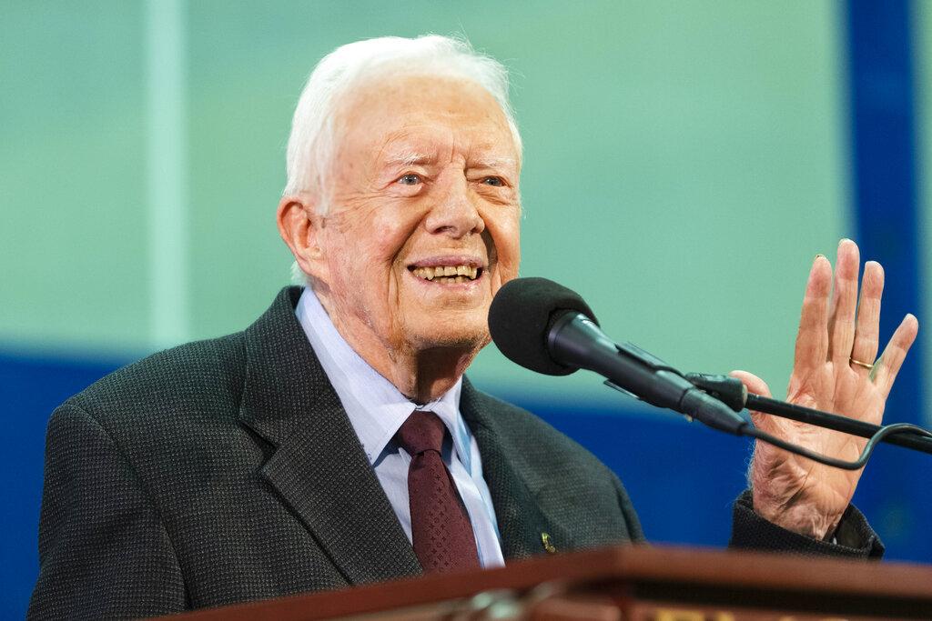 Jimmy Carter Fall