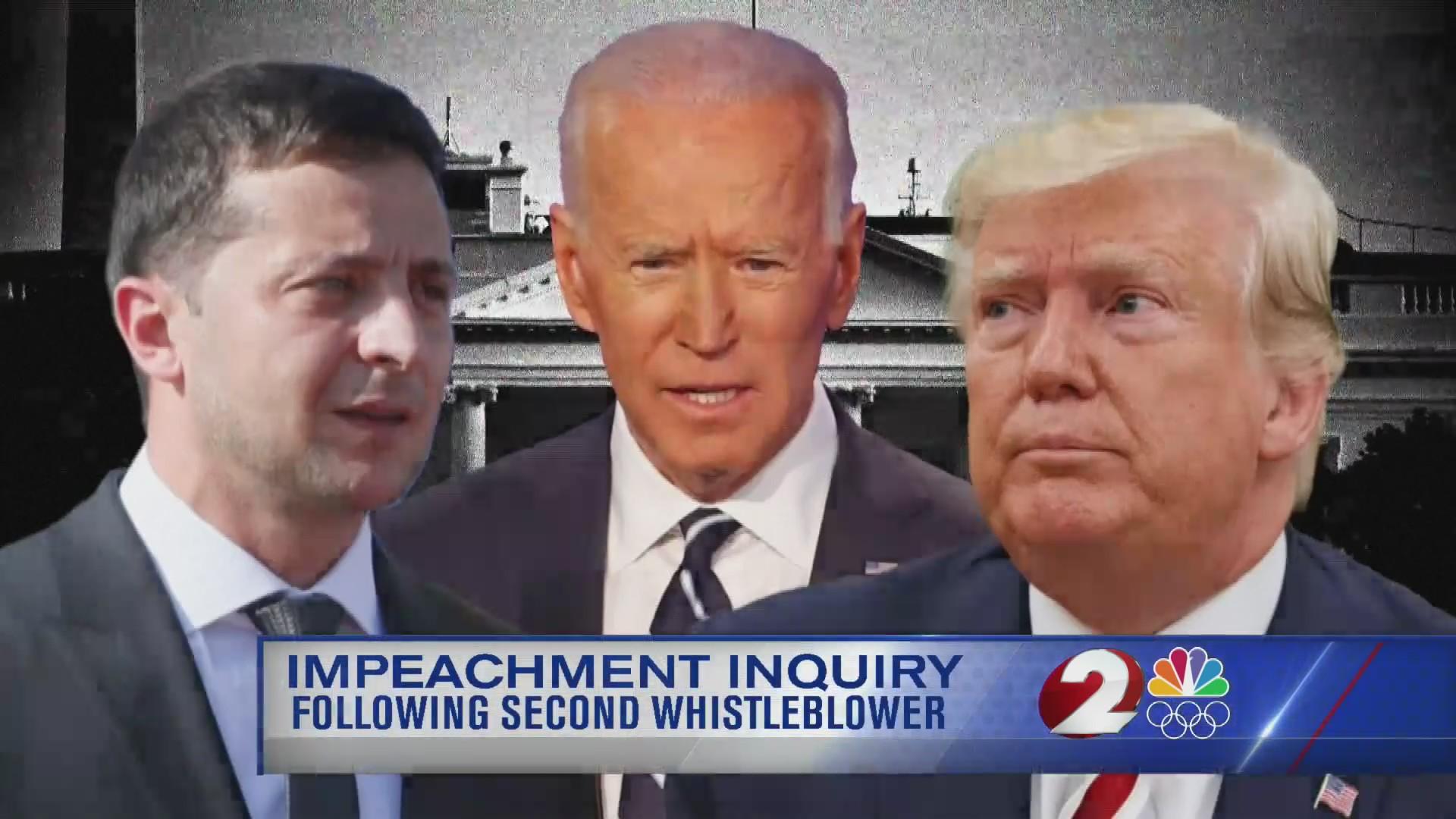 Impeachment inquiry following second whistleblower