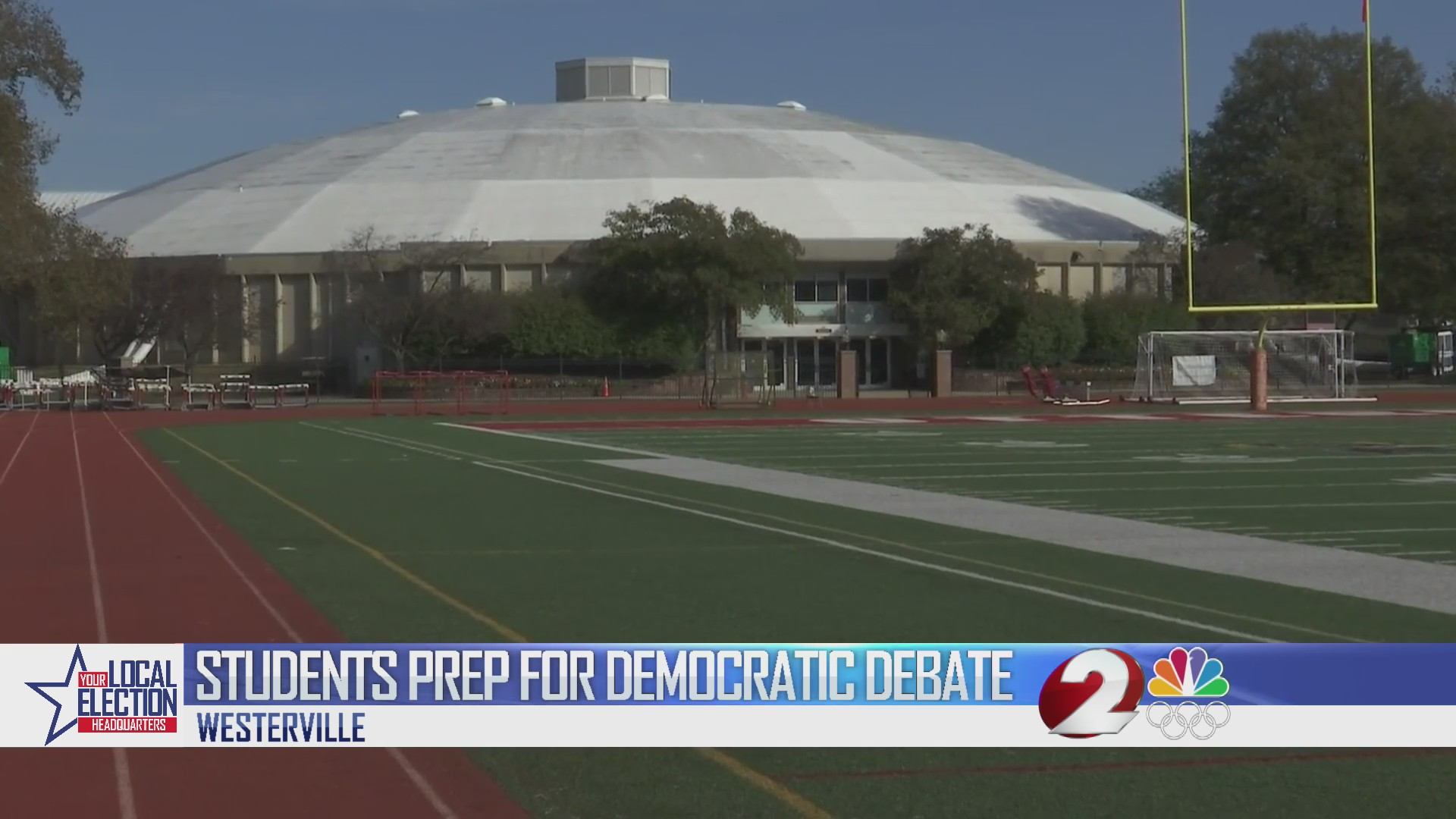 Students prep for democratic debate