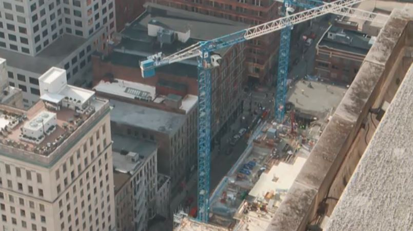 Cincinnati building collapse