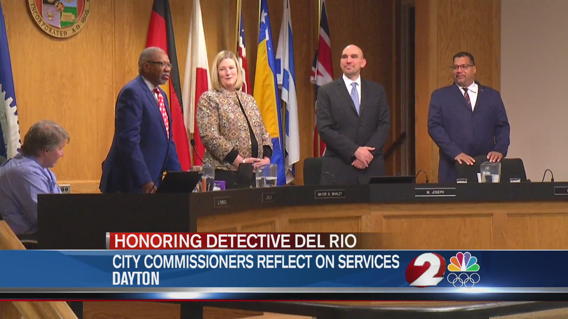 City commissioners reflect on Det. Del Rio services