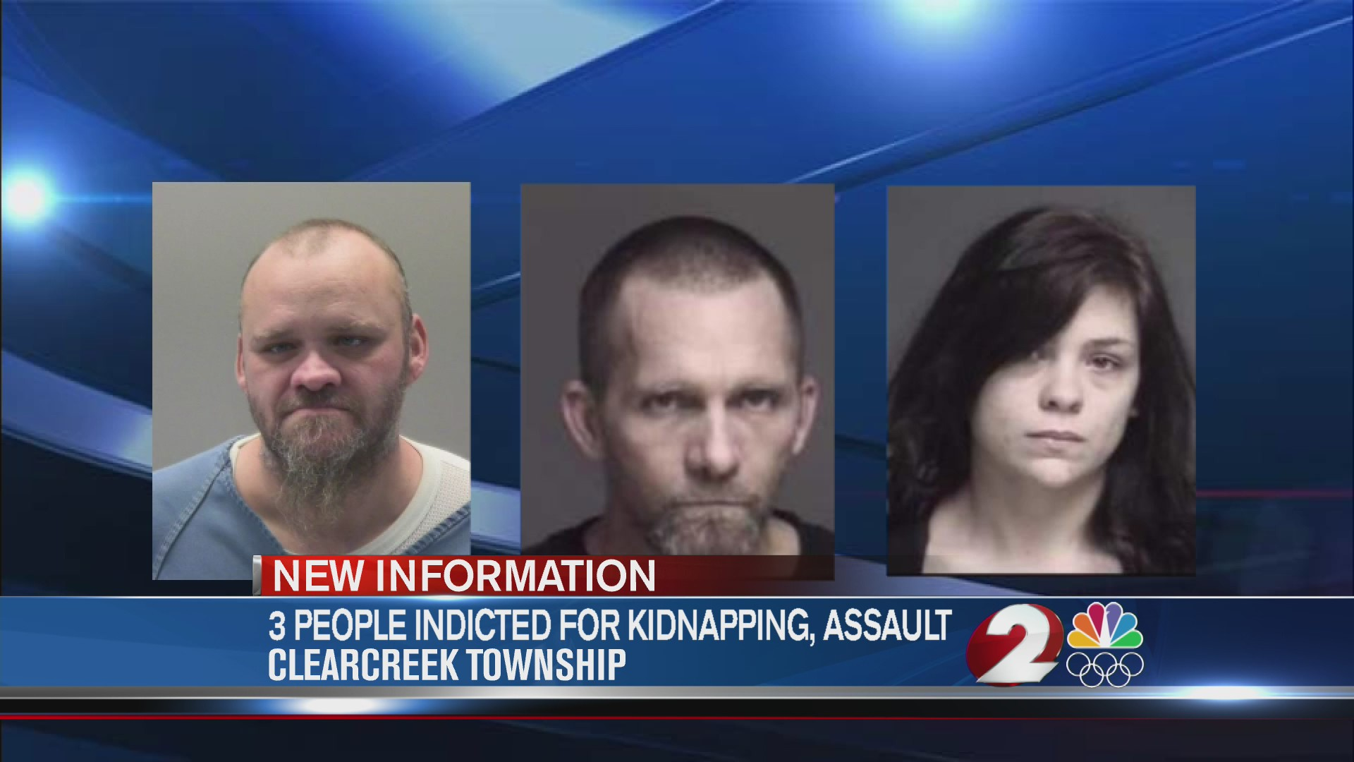 3 people indicted for kidnapping, assault