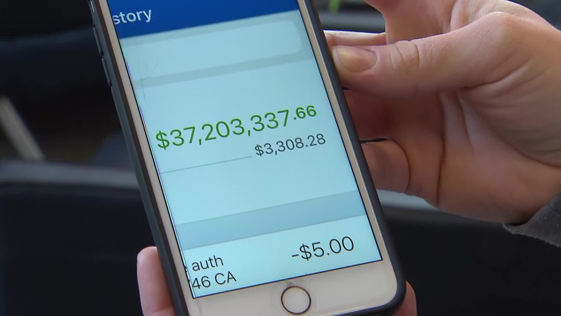 Bank mistakenly puts $37M in woman's account
