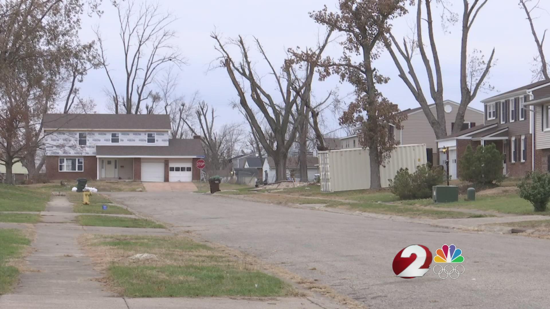 Tornado repairs