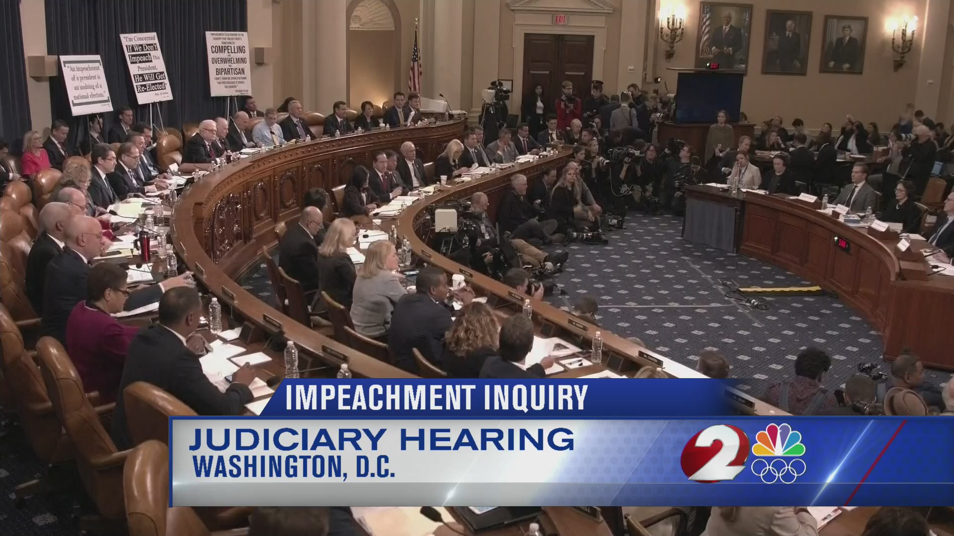 Impeachment inquiry in the hands of House Judiciary Committee