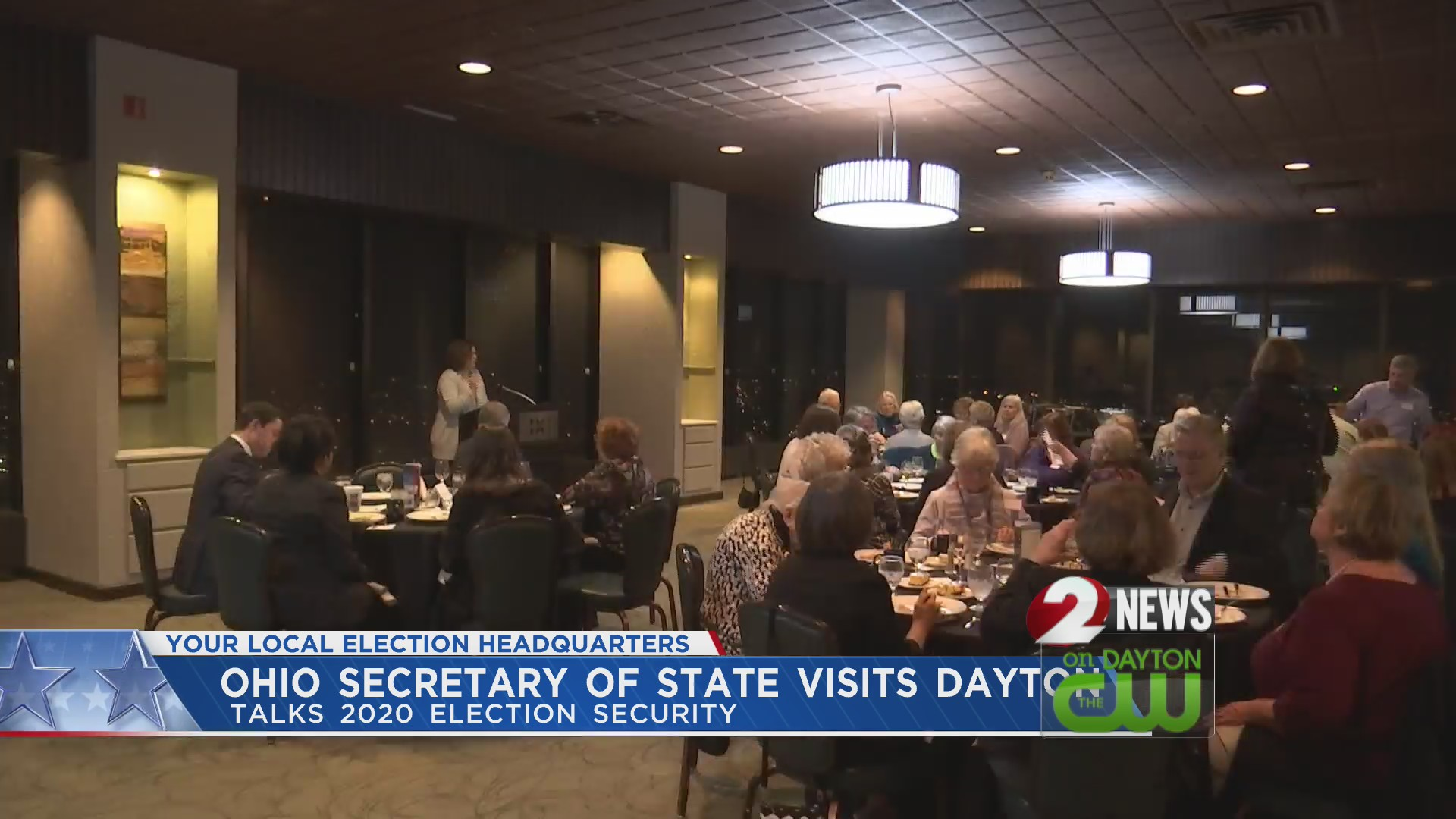 Ohio Secretary of State visits Dayton