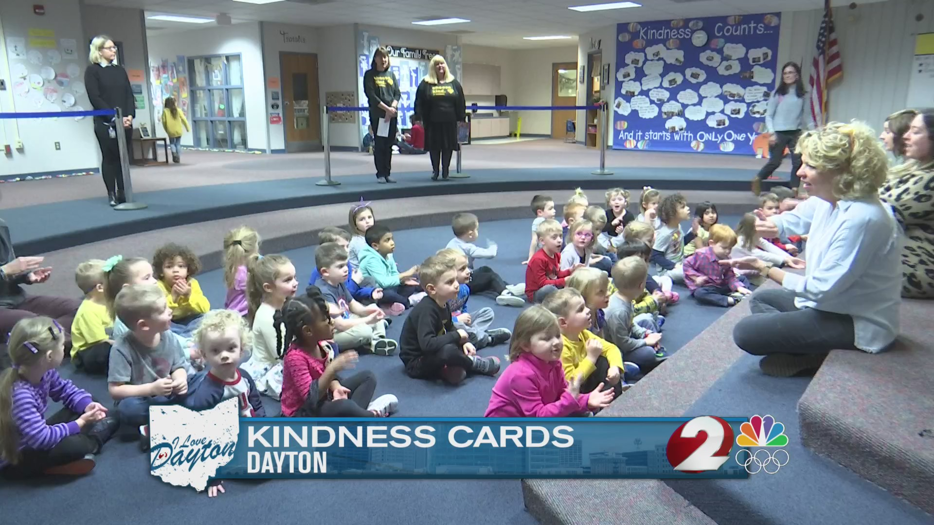 Centerville woman, students show that kindness goes a long way