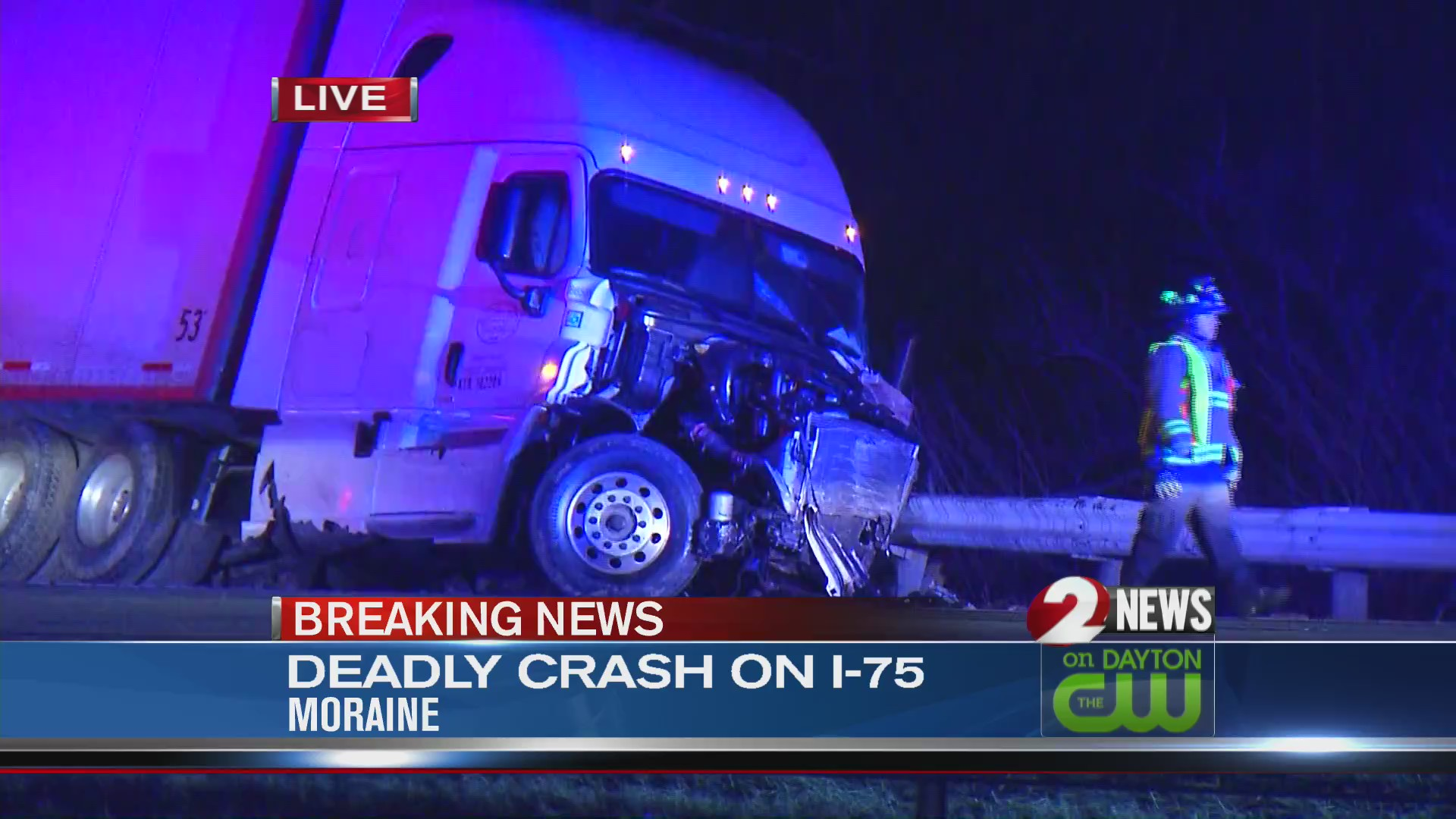 Deadly crash on I-75