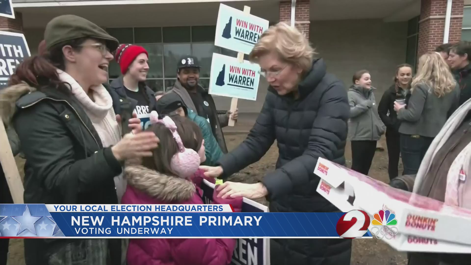 New Hampshire primary now underway