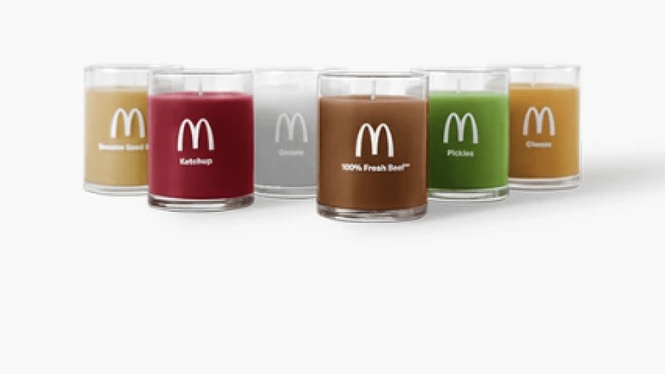 McDonald's candles(McDonald's)