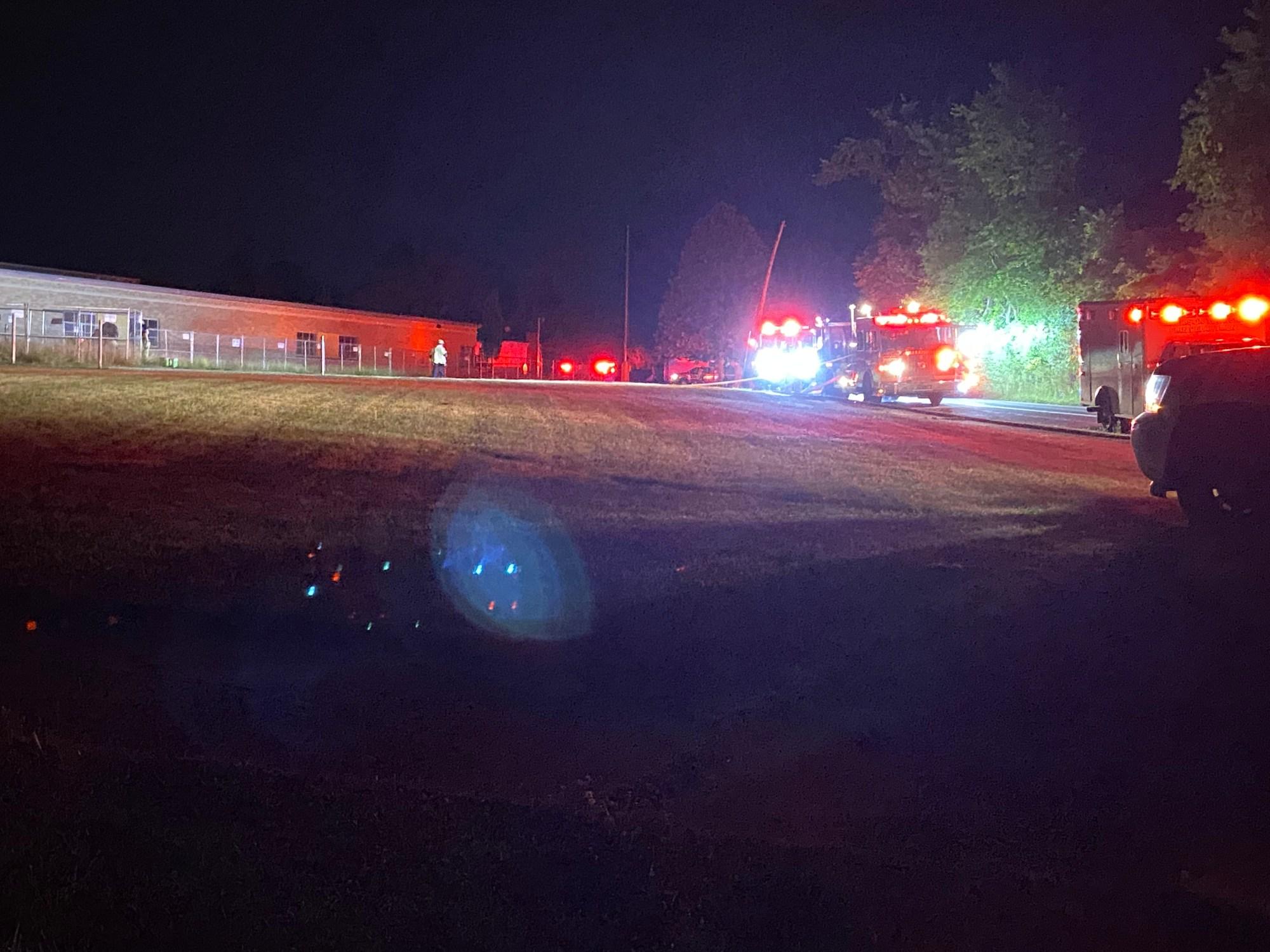 Harrison Twp school fire