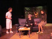 Els Ausema, Sue Leusen en Noura Harrath