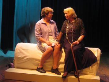 Rieky van der Heijden en Sue Leusen