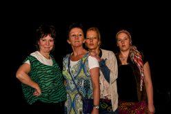 Monique Hamers, Heleen Hendriks, Tessa Kingma en Melanie Pekel