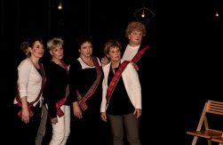 Susanne Dons, Marieke Griffioen, Ine Wiebenga, Esther v.d. Schouw en Henk Vink