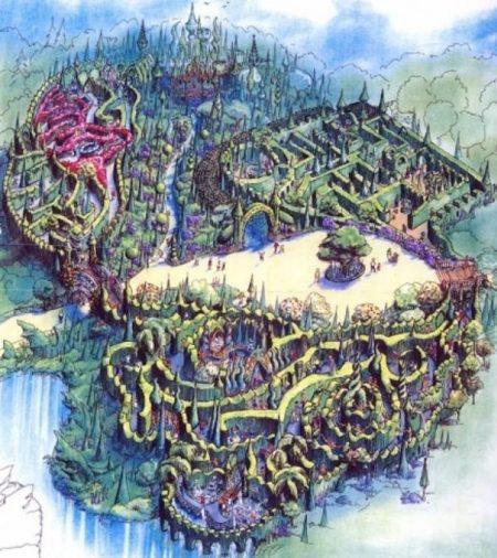 Unicorn Labyrinth at Beastly Kingdom