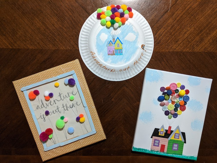 Disney Craft Night Adventure Is Out There With These Up Craft Ideas Wdw Magazine