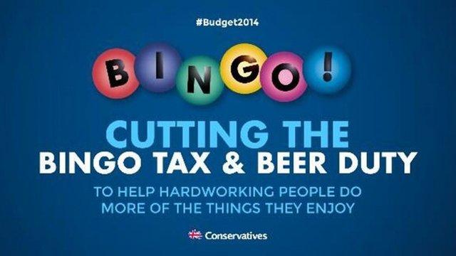 Cutting The Bingo Tax Banner