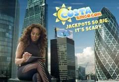 Mel B in bingo TV ad