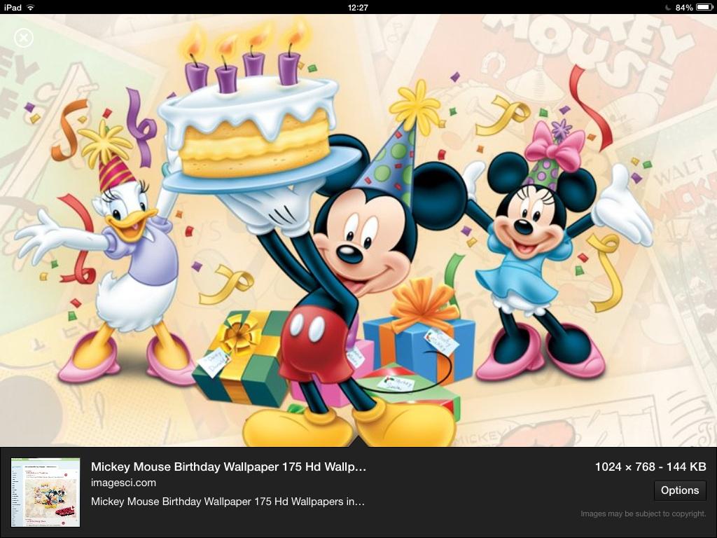 Happy Birthday Mickey Walt Disney World For Grownups