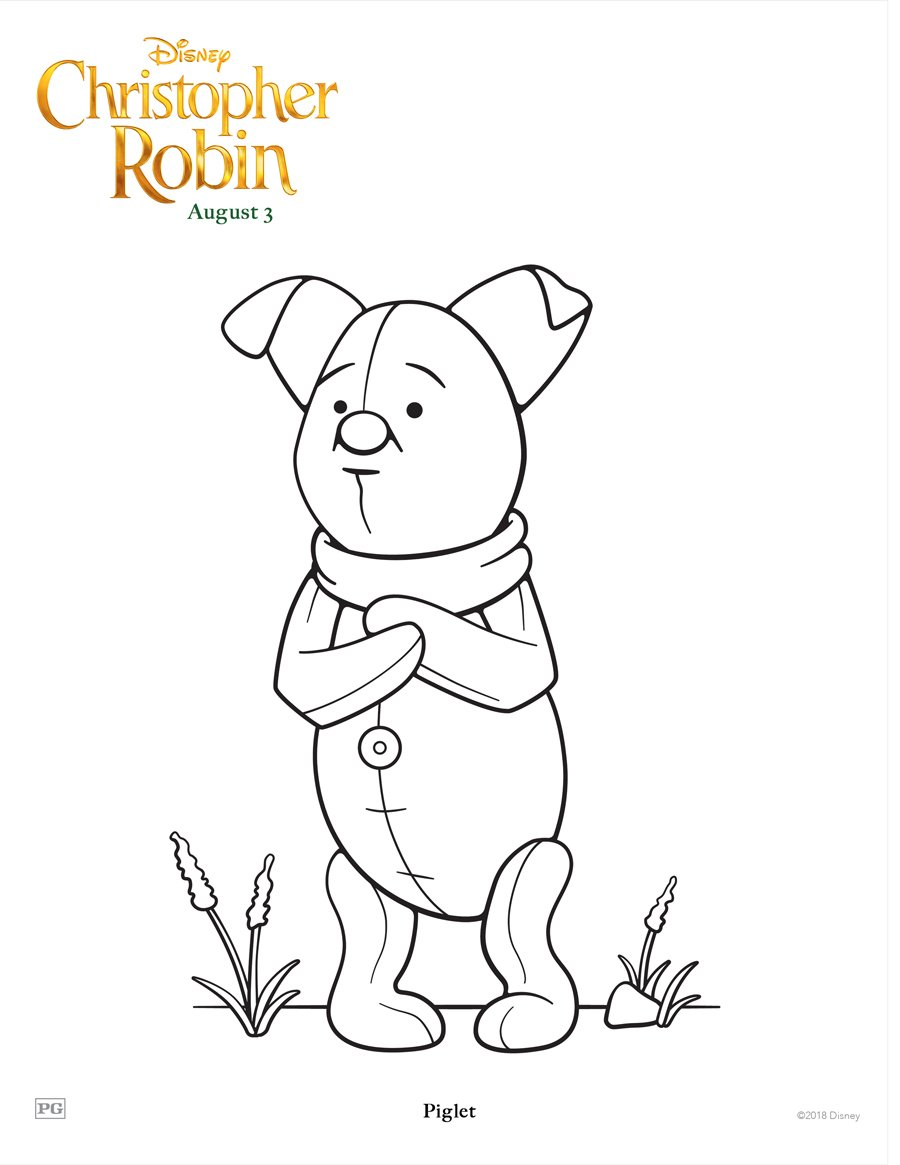 Printable Coloring and Activity Sheets from Disney's