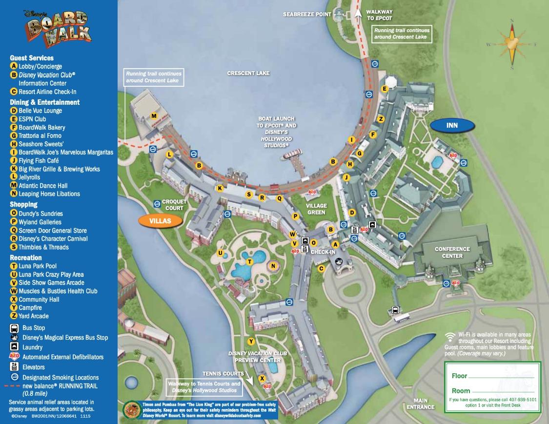 Best Kitchen Gallery: Disney's Boardwalk Resort Map Wdwinfo of Downtown Disney Resort Area Hotels  on rachelxblog.com
