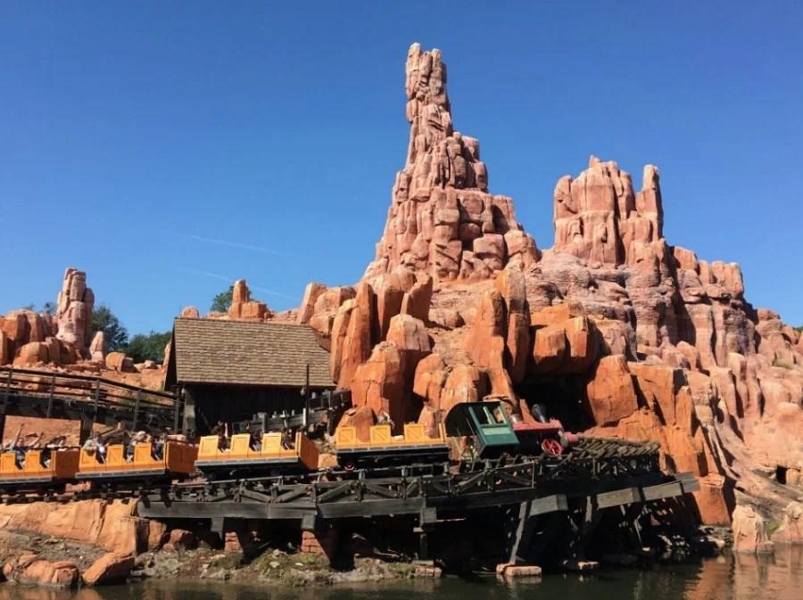 big thunder is in frontierland. Big Thunder Mountain Railroad Magic Kingdom Walt Disney World
