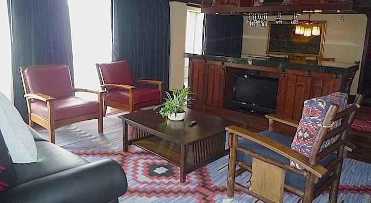 standard sofa table length szerokosc 300 cm disney's wilderness lodge | disney suites cara goldsbury ...
