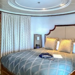 Disney Dream Sofa Bed Leather Sofas Naples Fl Cruise Line Staterooms Vacation Planner Cara And Fantasy S Royal Suite Bedroom