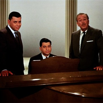 Sherman Brothers with Walt Disney - copyright Disney