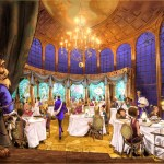 Be Our Guest Restaurant Fantasyland interior