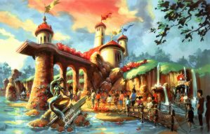 LIttle Mermaid Disney World Fantasyland