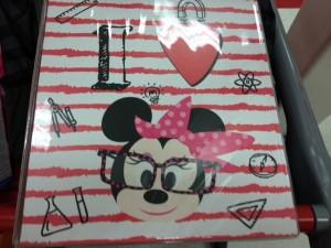 Minnie Mouse binder