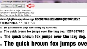 8 B FC WDW Radio Disney Themed Fonts Installing Fonts