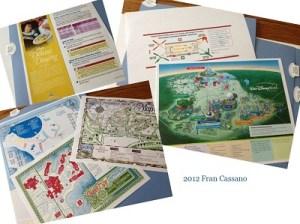 14 C FC WDW Radio Walt Disney World Planning Folder