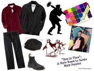 27 B FC WDW Radio Mary Poppins Style Boards