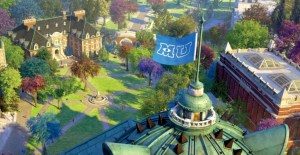 Monsters University Quad