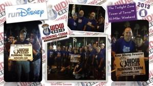 PPDC WDW Radio Running Team Digi Scrapbook Page 2014