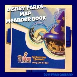 Disney Parks Map Meander Book 1