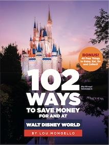 102 Ways to Save Money at Walt Disney World