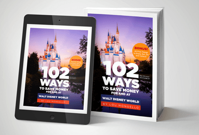 102 Ways To Save Money Walt Disney World - Print and iPad Mobile Kindle iBooks