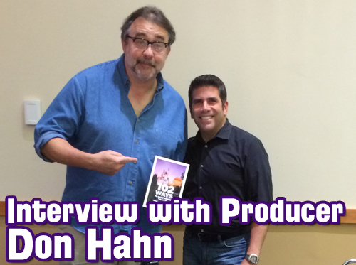 Don Hahn interview Disney