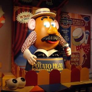Toy Story Mania Mr. Potato Head