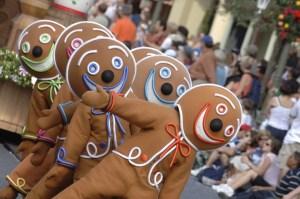 Christmas Gingerbread Men-Disney