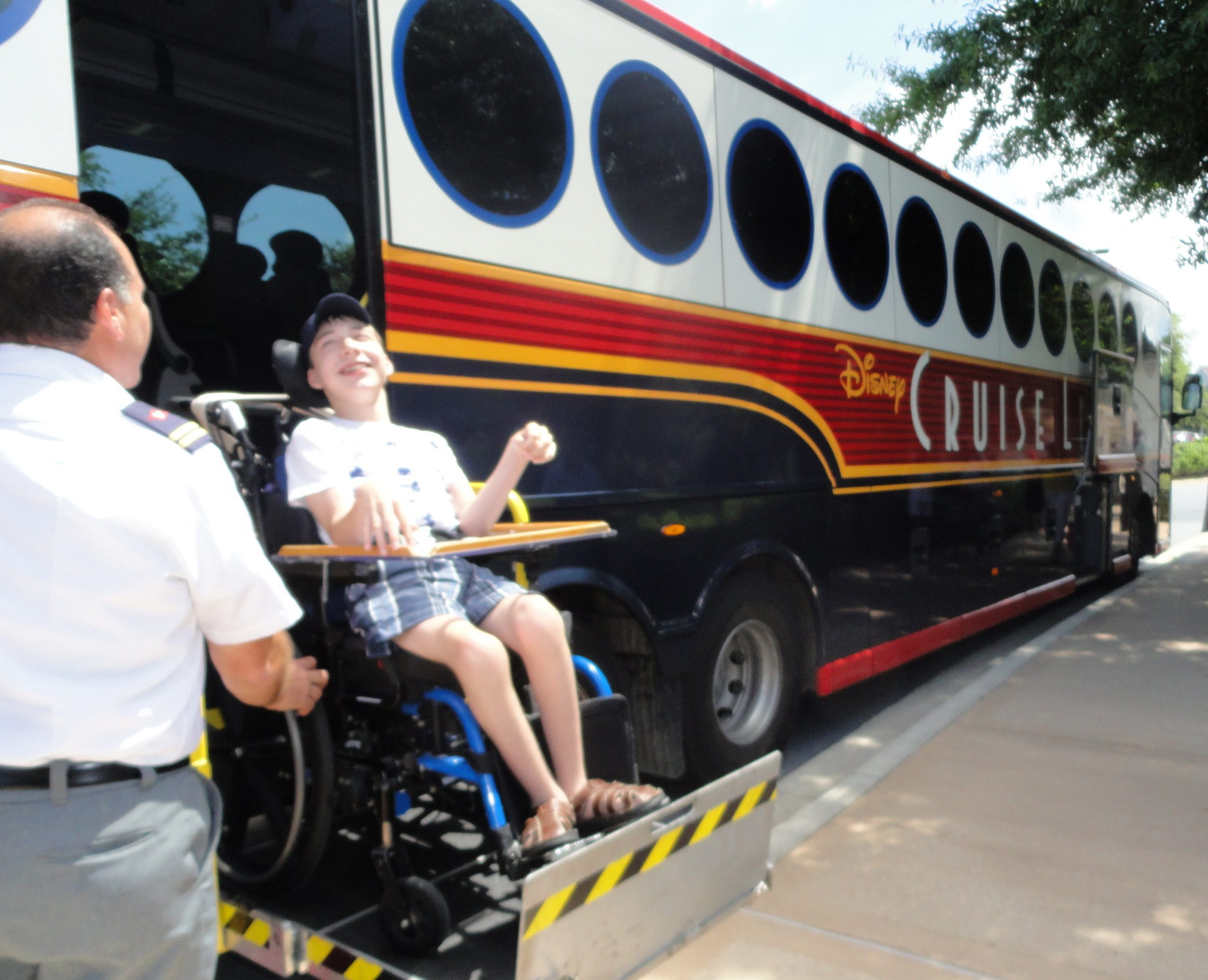 wheelchair express shower chairs walmart disney on wheels s magical at walt world after about a forty minute ride to and arriving your resort the process occurs in reverse driver will unbuckle
