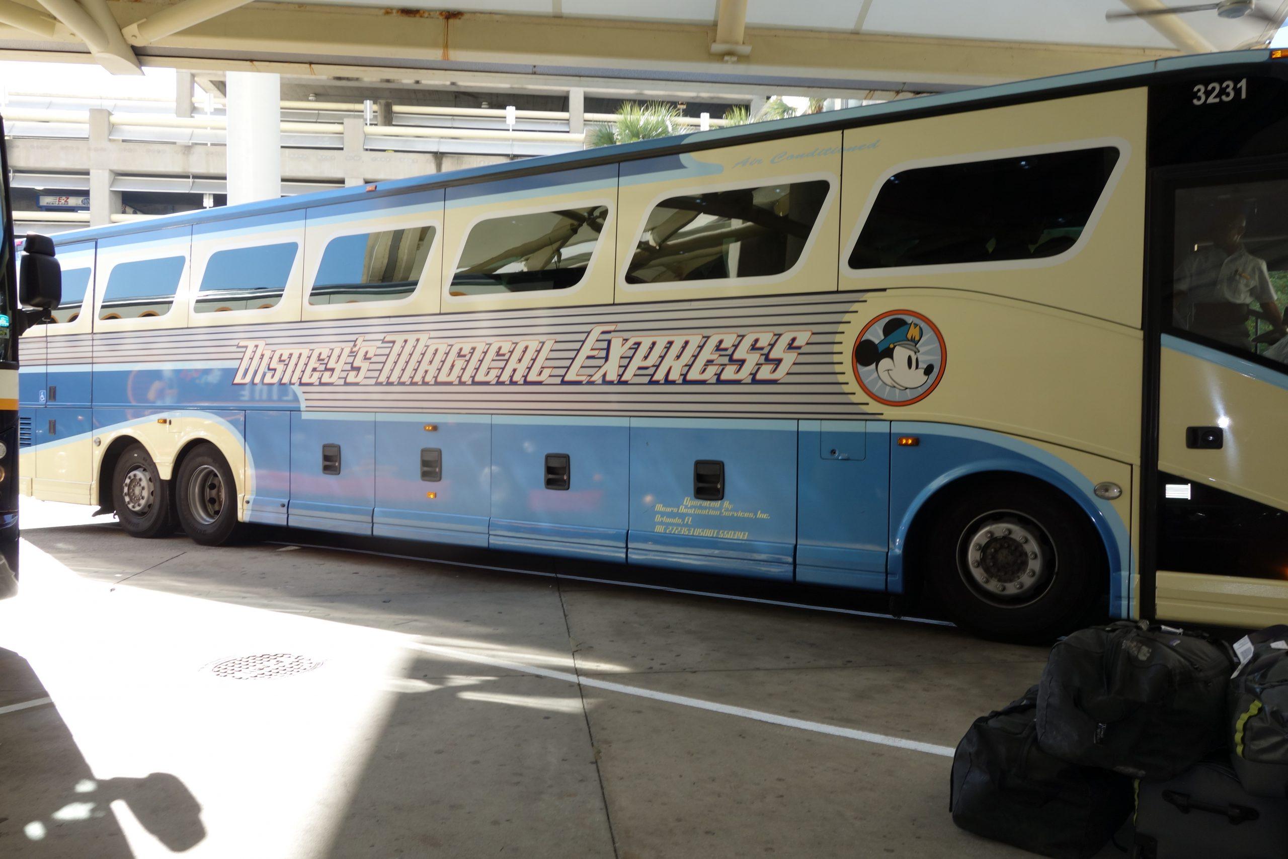 Disney On Wheels Disney S Magical Express At Walt Disney World Wdw Radio