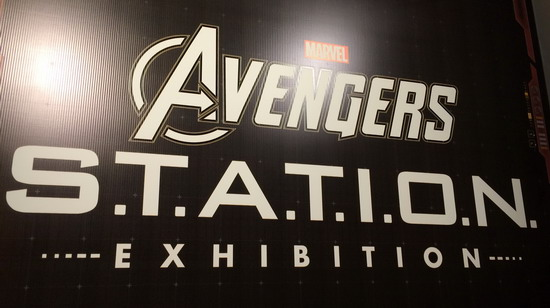 Avengers Station Exhibit