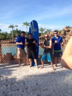 lou surf team