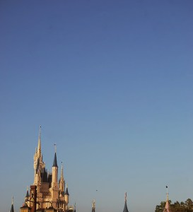 Cinderella Castle at Dawn - Blake