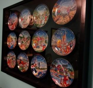 disney plates - kf